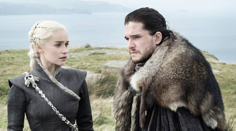 game of thrones, game of thrones finale, game of thrones season 7 finale, daenerys taragaryen, jon snow, daenerys jon pics