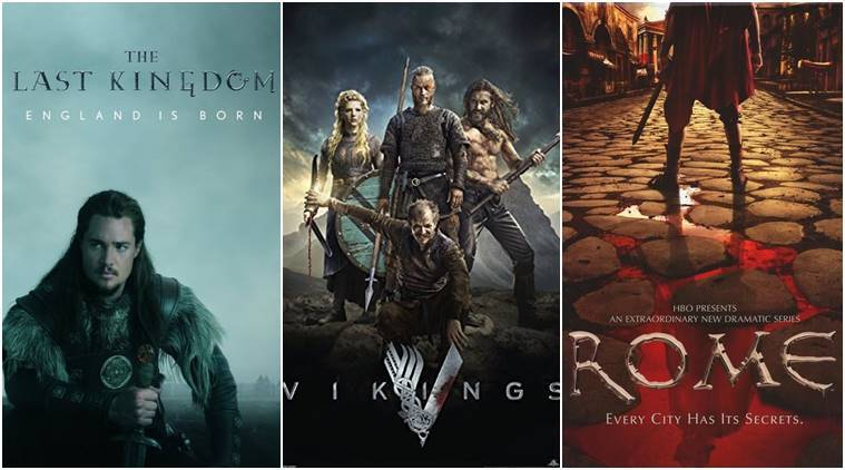 game of thrones like tv shows, rome tv show, the last kingdom, The Borgias, the walking dead