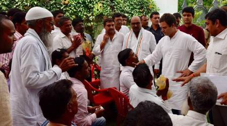Rahul Gandhi reaches Amethi, meets NHAI authorities over land acquisition in his constituency