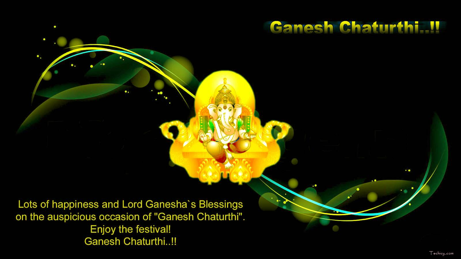 Hd wallpaper ganpati -  Source Techicy Com