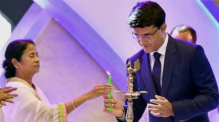 sourav ganguly, world t20, world t20 kolkata, eden gardens, jhulan goswami, cab president, cricket news, sports news, indian express
