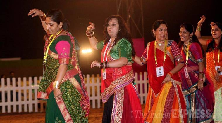 Garba Pandals, Garba Entry, Panchagavya, Hindu Utsav Samiti, Love Jihad, India News, Indian Express, Indian Express News