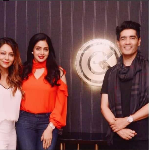 Gauri Khan, Sridevi, Manish Malhotra, gauri khan designs,