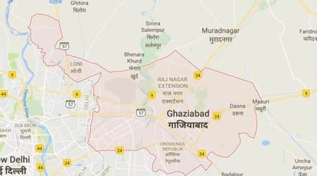 Ghaziabad college Students Protest, Ghaziabad College, Students Protest Ghaziabad College, Students Protest, India News, Indian Express, Indian Express News