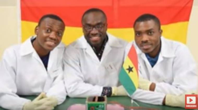 Ghana's first satellite, GhanaSat-1 is now orbiting Earth