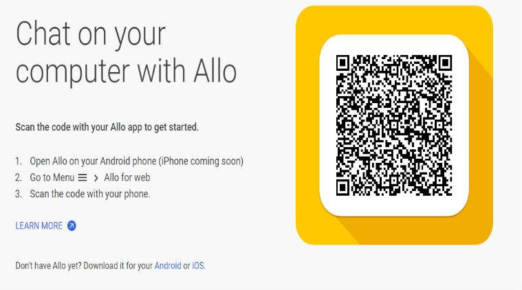 Google Allo for web finally arrives, but only for Android users