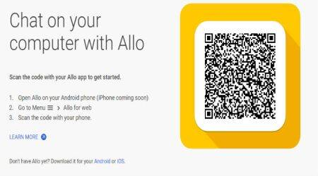 Google Allo now available on the web: Here's how to use it