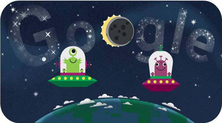 solar eclipse, solar eclipse 2017, solar eclipse google doodle, solar eclipse us, great american eclipse