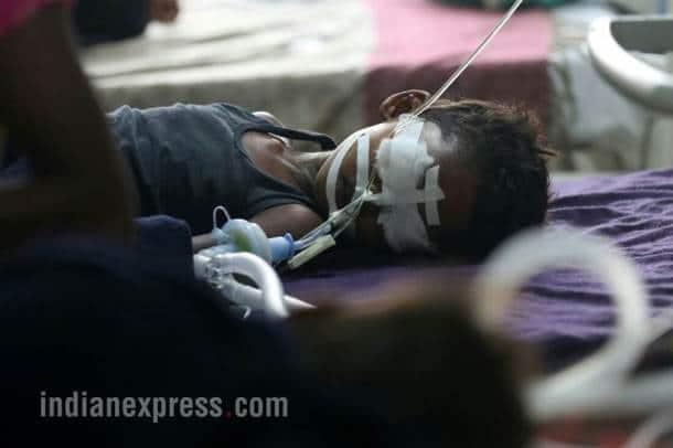 gorakhpur hospital, hospital children deaths, gorakhpur hospital photos, up hospital, uttar pradesh, yogi adityanath constituency, indian express