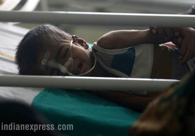 gorakhpur hospital, hospital children deaths, gorakhpur hospital photos, up hospital, uttar pradesh, yogi adityanath constituency, indian express
