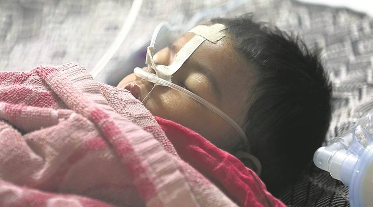 In India : Weekend child deaths push hospital toll to 85