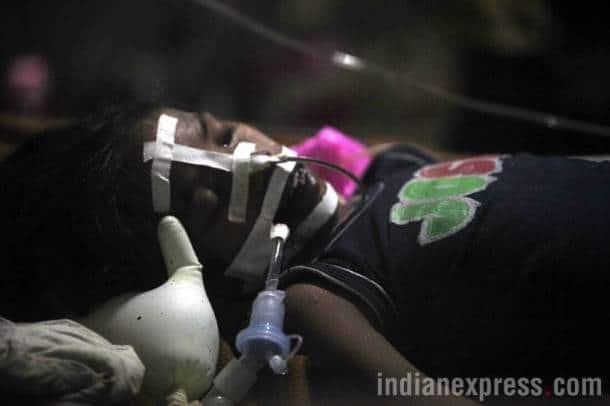 gorakhpur hospital, hospital children deaths, gorakhpur hospital photos, up hospital, uttar pradesh, indian express