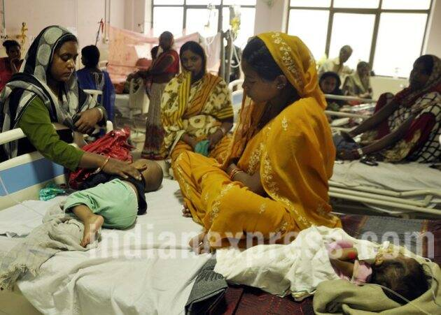 gorakhpur hospital, hospital children deaths, gorakhpur hospital photos, up hospital, uttar pradesh, indian express