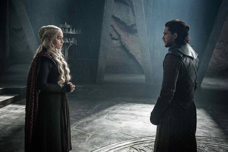jon snow, daenerys targaryen, game of thrones, game of thrones season 7, emilia clarke, kit harington