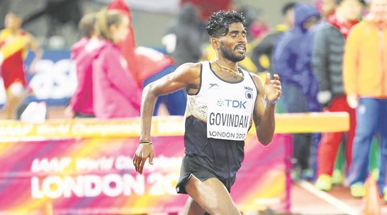 govindan lakshmanan, world athletics championships, mo farah, G lakshmanan, Athletics, Tamil nadu Athlete,
