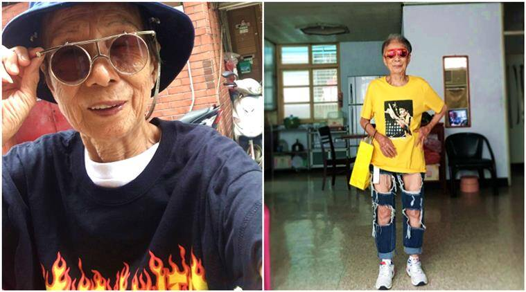 grandma fashion, 88 year old woman fashion sense, streetwear goals, fashionable grandma, stylish granny, fashion sense, style statement, indian express, indian express news