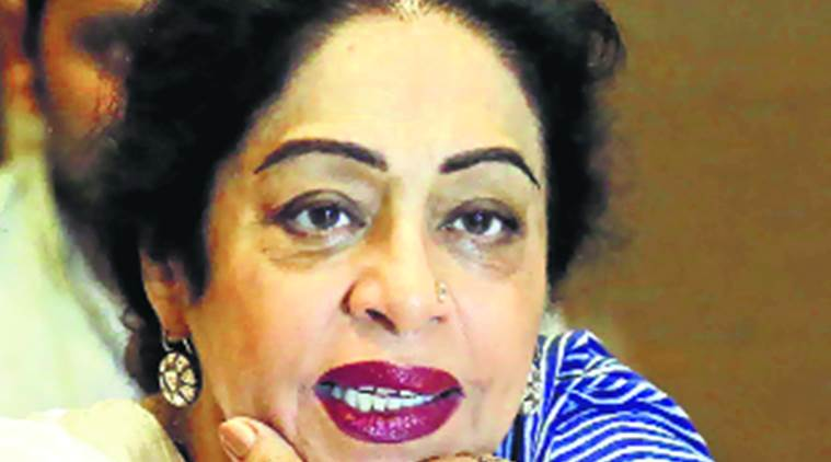 kirron kher, mp kirron kher, vikas balara arested, chandigarh stalking, chandigarh stalking case, stalking case, BJP haryana, chandigarh news, vikas barala, BJP, crime news, vikas barala arrest, india news, indian express news