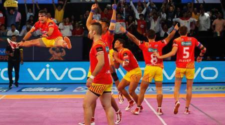 Pro Kabaddi 2017: Gujarat Fortunegiants thump Telugu Titans 29-19; Haryana Steelers-Tamil Thalaivas play out 25-25 tie