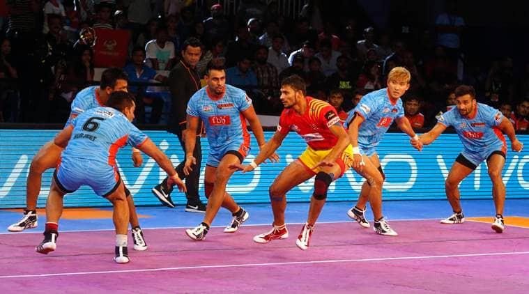 Pro Kabaddi 2017, Gujarat Fortunegiants, Gujarat Fortunegiants vs bengal Warriors
