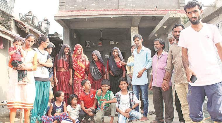 gujarat floods news, khariya news, india news, indian express news