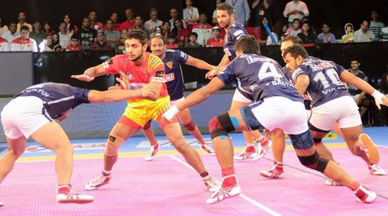 Pro Kabaddi Live, PKL season 5, PKL 2017, Gujarat Fortunegiants, Jaipur Pink Panthers, UP Yoddha, Patna Pirates, pro kabaddi news, Indian Express