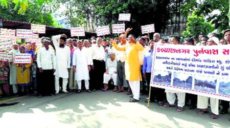 Demolition drive: Displaced Vadodara families restart stir