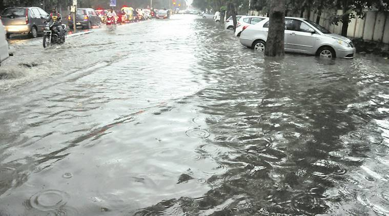 Mumbai flooded after heavy rains; road, rail, air traffic hit