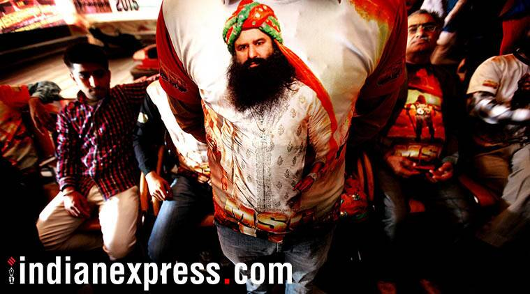 Gurmeet Ram Rahim Singh, baba ram rahim, rockstar ram rahim, messenger of God, ram rahim movie, ram rahim songs, Dera Sacha Sauda, Dera chief, Gurmeet Ram Rahim sentence, Dera chief sentence, India news, Indian Express