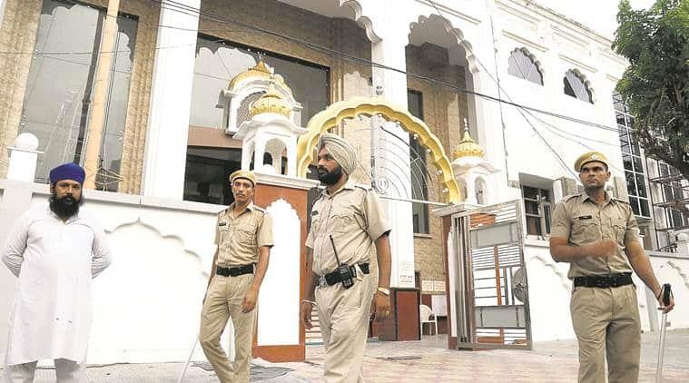 gurudwara security, dera sacha sauda, rape case verdict, panchkula, gurmeet ram rahim singh, indian express