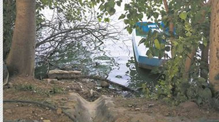 Hauz Khas lake, Delhi, Hauz Khas lake, Hauz Khas lake drowning, delhi news, indian express, indian express news