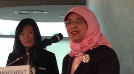 Singapore Parliament Speaker Halimah Yacob to contest in presidentialelection