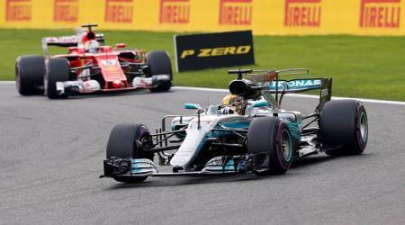 Lewis Hamilton marks 200th race with victory in Belgian Grand Prix