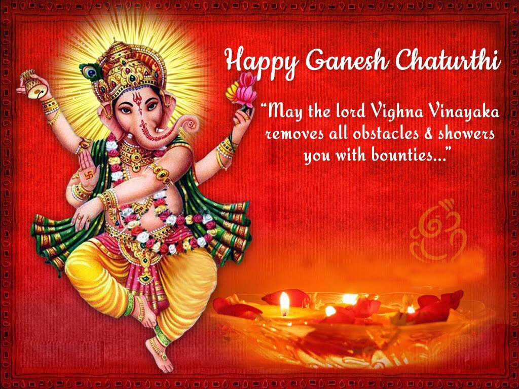 Hd wallpaper ganesh - Happy Ganesh Chaturthi 2017 Facebook Whatsapp Messages Status Hd Wallpapers Images And Greetings