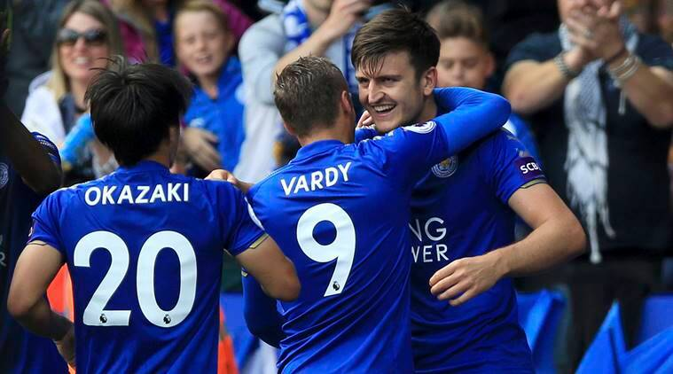 Harry Maguire, Leicester City, Nathaniel Chalobah, sports news, football, Indian Express