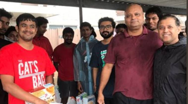 Indian students rescued from lake amid hurricane Harvey in United States critical