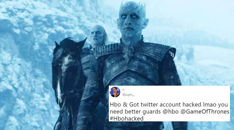 #HBOHacked, Hbo hacked, hbo hacked game of thrones, hbo hacked funny tweets, hbo hacked hilarious tweets, hbo tweets, hbo hacked funny tweets, hbo hilarious hacked tweets, hbo hacked after game of thrones leak, indian express, indian express news