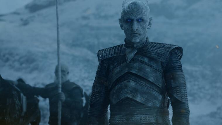 night king, viserion, night king game of thrones, undead viserion