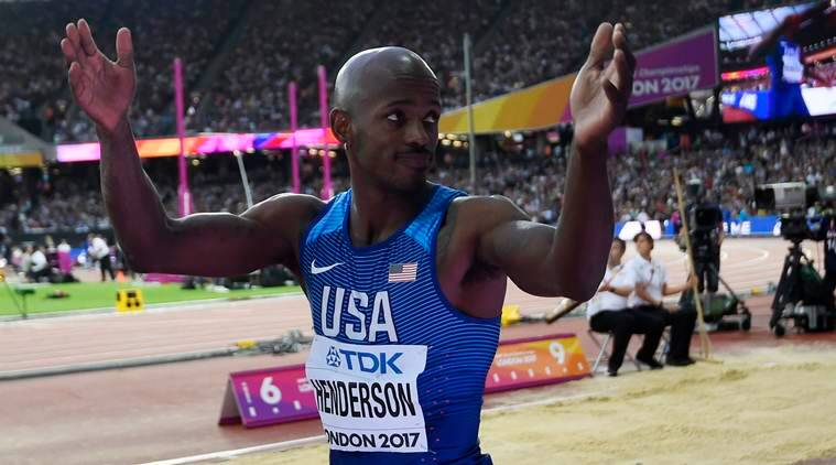 jeff henderson, long jump, world athletics championships