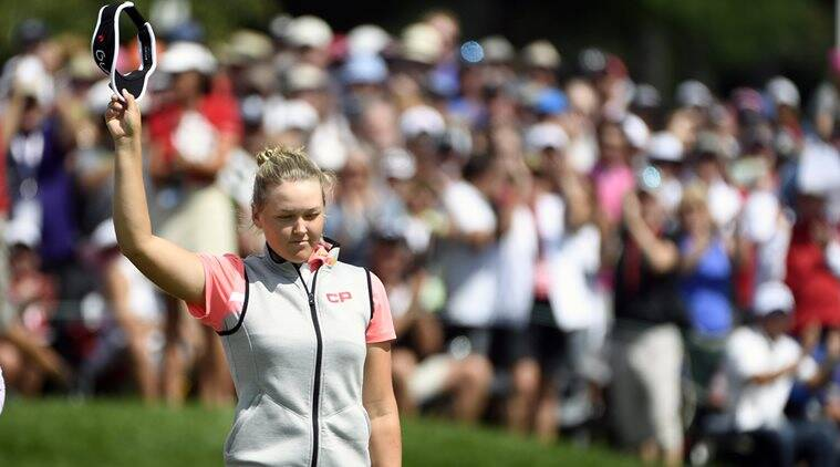 Brooke Henderson, Jodi Ewart Shadoff, England, LPGA Tour