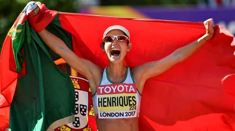 Ines Henriques, Henriques, World Championships, Yin Hang, iaaf, Yang Shuqing, athletics, sports news, indian express