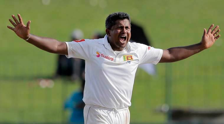 Rangana Herath receives 'Guard of Honour' from England players in farewell Test