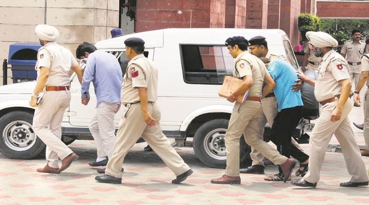 Chandigarh Stalking case: Two accused sent to judicial custody till August 25