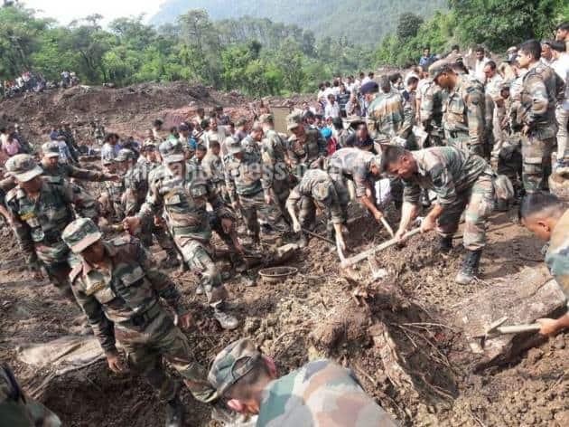 Himachal landslide,Mandi landslide, landslide in mandi, landslide in Himachal Pradesh