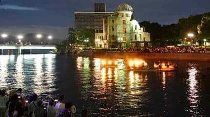 hiroshima day, hiroshima nagasaki, nuclear weapon, atomic bombing, atom bombs, Hiroshima Nagasaki nuclear attack, hiroshima anniversary, latest news, indian express