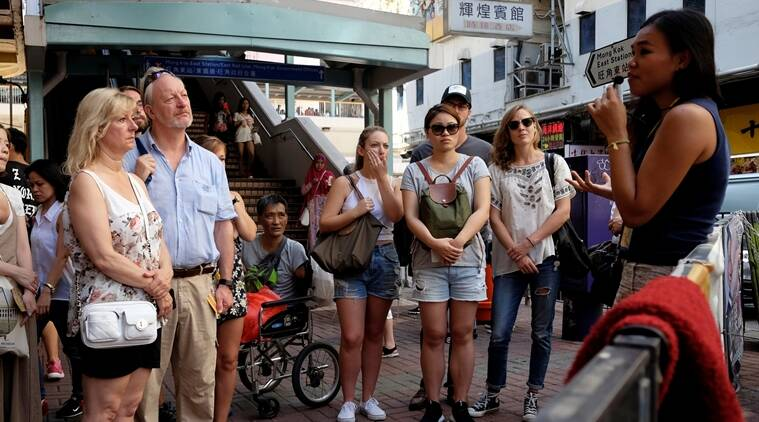 Hong Kong tour aims, show gritty side, visitors a grittier side, World news, Indian express news