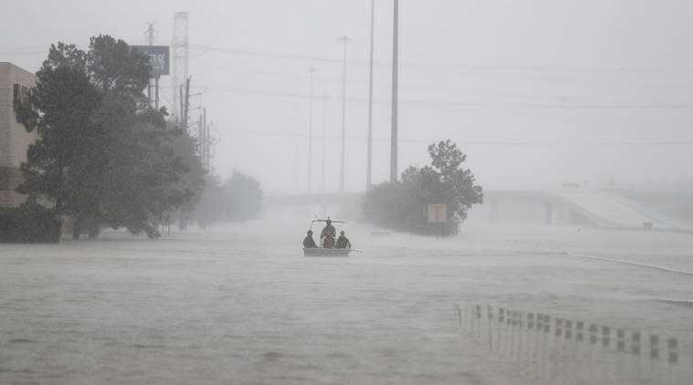 indian dies in hurricane harvey, indian hurricane harvey, indian houston, hurricane harvey, houston, indian express news