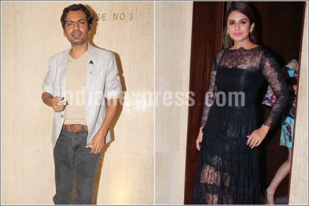 nawazuddin siddiqui, huma qureshi, sridevi birthday photos