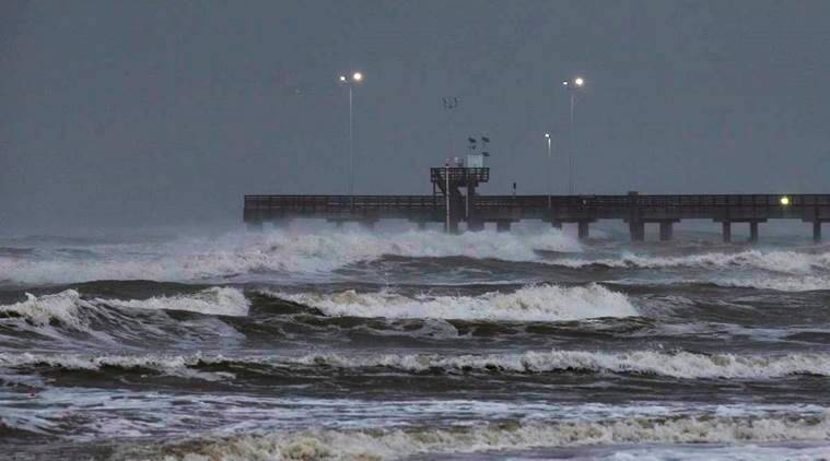 Oil platforms being evacuated due to Tropical Storm Harvey