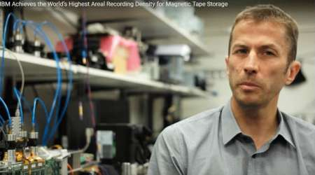 IBM scientists sets new world record, store 330TB of uncompressed data in one tape