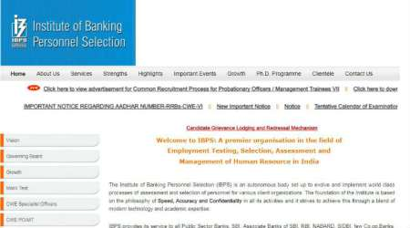 IBPS Clerk admit card 2017 out, download online at ibps.in